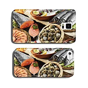fishes,clams and prawns cell phone cover case Samsung S6