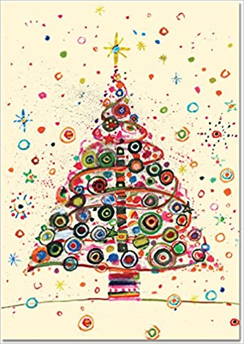 jolly tree small boxed holiday cards christmas cards greeting cards peter pauper press 9781441321046 amazoncom books - Amazon Christmas Cards
