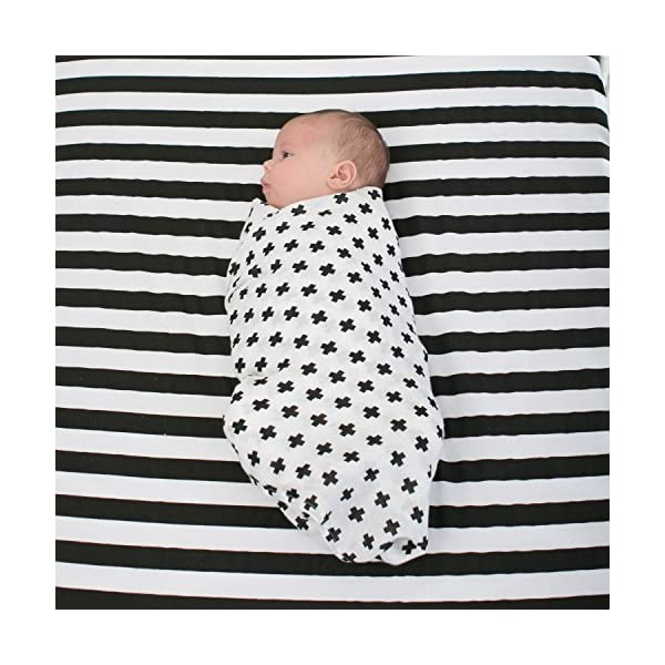 Swaddle Blanket Wraps in Chevron Unisex Cross /& Arrow for Babies Infants Toddlers Newborns Large 120 x 120 cm 3 Pack Baby Muslins for Boys and Girls Ziggy Baby 100/% Cotton Muslin Squares