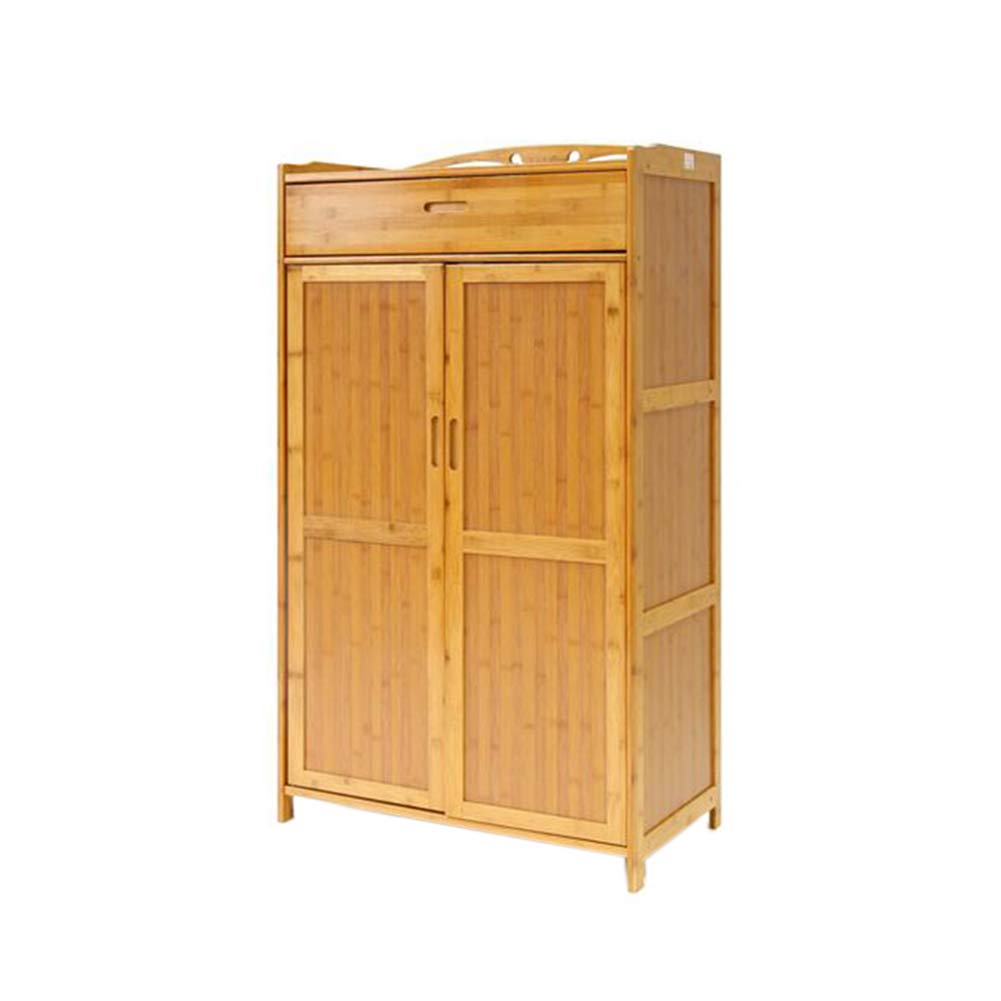 XUERUI オープンシェルフラック 棚 竹 床材 ストレージ 家庭 マイクロ波 炉 キッチン キャビネット (サイズ さいず : 69x38x118cm) B07J1PHRM4  69x38x118cm