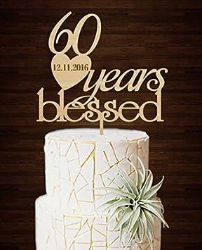 Creative 60 Jahren Blessed Fur Paar Vintage Hochzeit Jubilaum