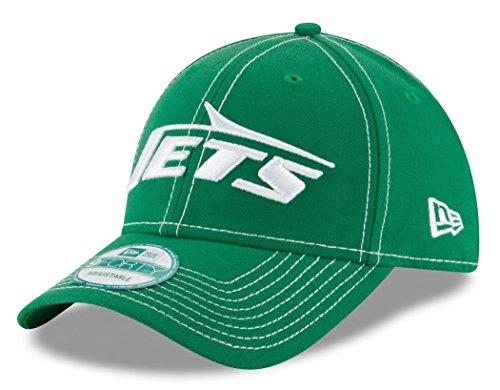Adjustable Hat Structured Throwback - New York Jets New Era 9Forty NFL