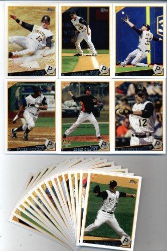 Pittsburgh Pirates Team Set - 2009 Topps Baseball Pittsburgh Pirates Team Set (22 cards)