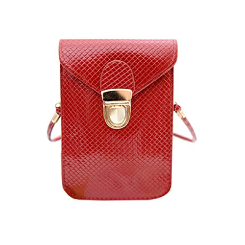 Body Cross Red Shoulder Handbag Purse Mini Satchel Bag Messenger Malloom® Tote vwXxqIPa