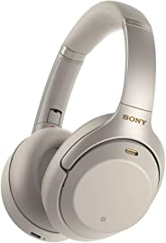 Sony Noise Cancelling Headphones WH1000XM3: Wireless Bluetooth Over the Ear Headphones with Mic and Alexa voice control - Ind