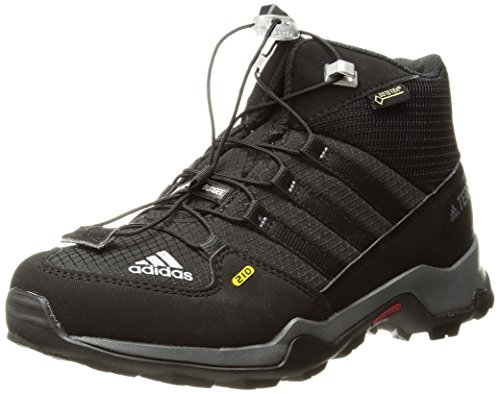 adidas Outdoor Kids' Terrex Mid Gore-Tex Hiking Boot, Black/Black/Vista Grey, 3 Child US Little Kid by adidas outdoor