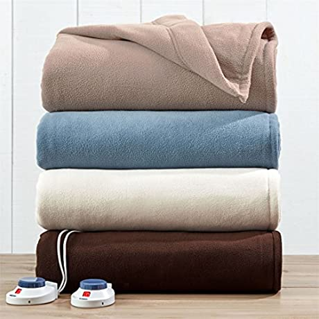 Brylanehome Auto Warming Blanket Natural King