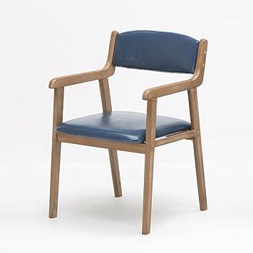 Stool Chaise Manger Moderne Simple En Bois Solide Salle