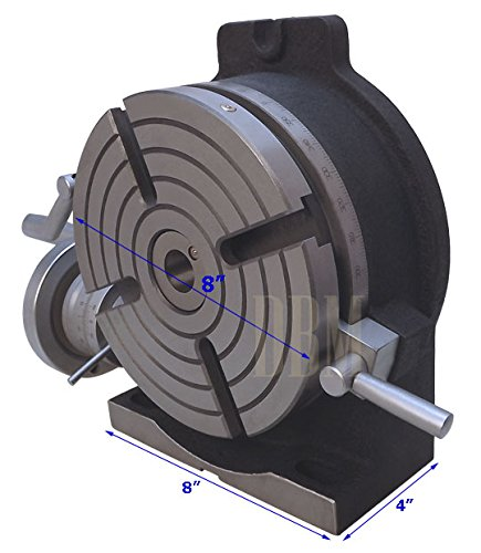 NEW 8'' Precision Horizontal Vertical HV Rotary Table Vise Milling Drilling Vice