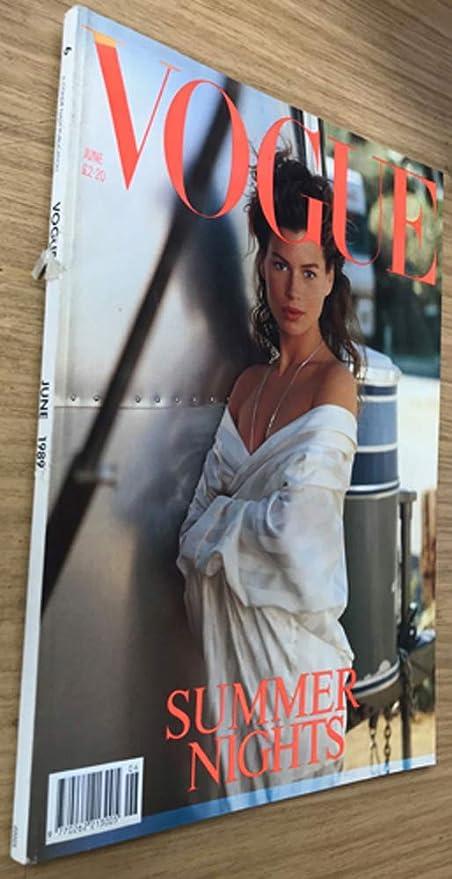 Vogue Revista Nº 6 Junio 1989: Noches de verano: Vogue: Amazon.es ...