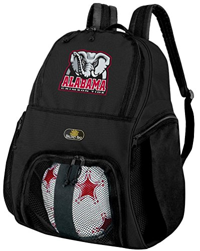 Broad Bay Alabama Soccer Backpack or University of Alabama Volleyball Bag by Broad Bay