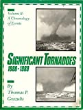 img - for Significant Tornadoes, 1880-1989: Volume 2, a Chronology of Events book / textbook / text book