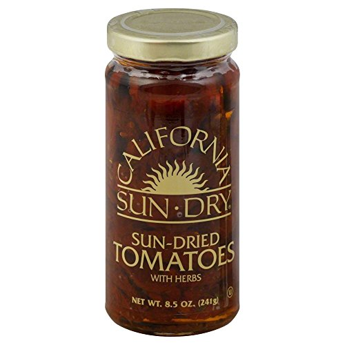 California Sun Dry Sun Dried Tomato Halves In Oil 8.5 OZ(Pack of 3)