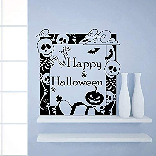 Halloween Pumpkin Bat Skull Horror Spider Attributes Holiday Decor Kids Panic Room Window Home Stickers AM Wall Decals Decor Vinyl Stickers SK3224 for $<!--$29.00-->
