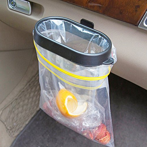 Universal Plastic Trash Rubbish Garbage Bin Can Auto Car Vehicle Holder Rack (Viking Trash Compactor Bags)