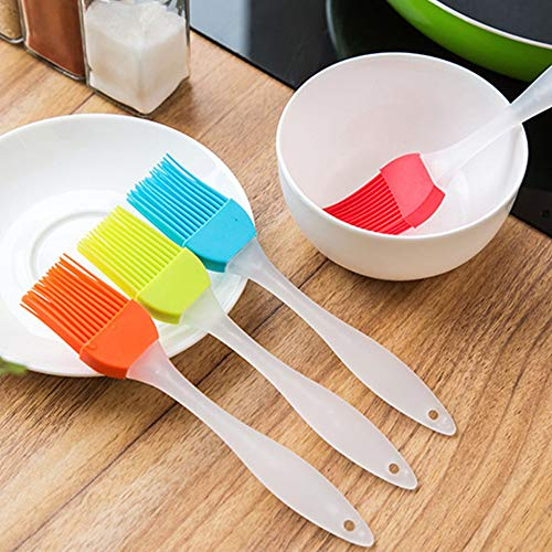 Easy to Clean Soft Silicone Baking Bakeware Bread Cook Pastry Oil Cream BBQ Tools Basting Brush Kitchen Utensils Randomly Delivered