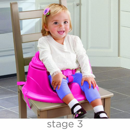 Summer Infant 3-Stage SuperSeat Deluxe Giggles Island Positioner, Booster and Activity Seat for Girl by Summer Infant (Image #3)