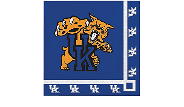 """20 16 University of Kentucky Wildcats Party Bundle 9/"""" Plates Lunch Napkins"""