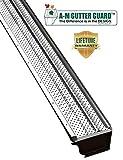 A-M Aluminum Gutter Guard 5' (200', Mill Finish)