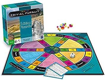 MOVIMIENTOS GANADORES Trivial Pursuit Picardie: Amazon.es: Juguetes y juegos