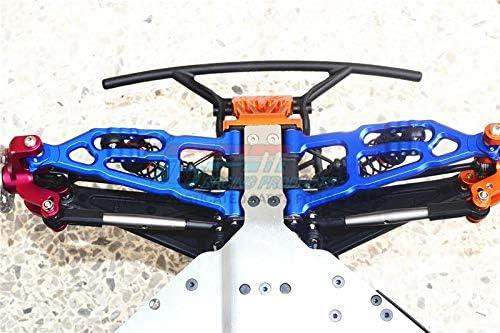 1 Pair Set Green Upgrade Parts Aluminum Front Lower Suspension Arm LOS03008 Losi 1//10 Baja Rey 4WD Desert Truck