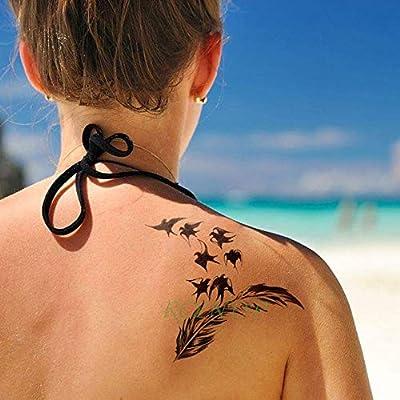 5pcs Tatuaje Impermeable Lobos Etiqueta Jon Lobo de la Nieve del ...