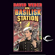 On Basilisk Station: Honor Harrington, Book 1 Audiobook by David Weber Narrated by Allyson Johnson