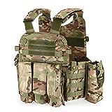 Lixada Outdoor Mens Modular Vest Hunting Gear...