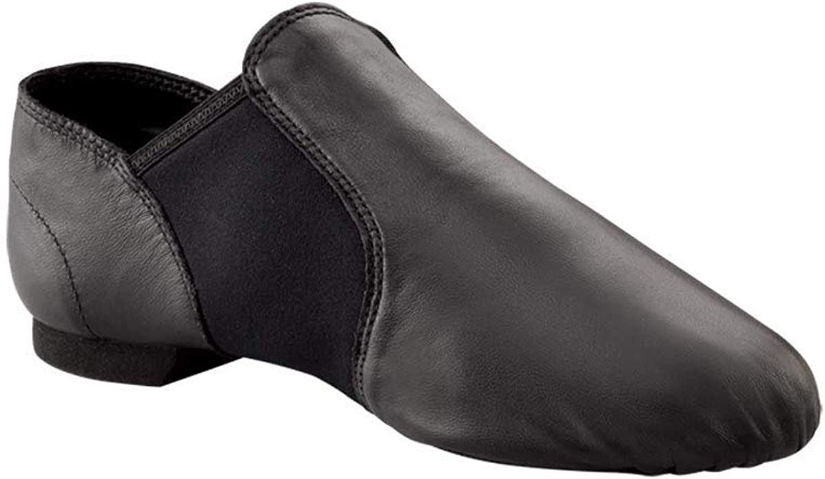 Capezio Women's Economy Jazz Slip On, Black, 10M US
