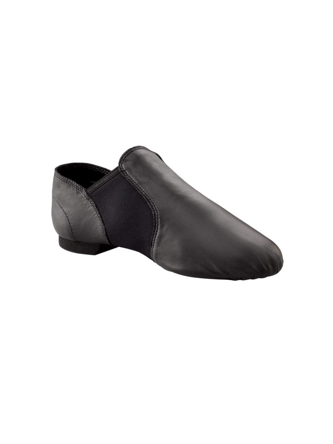 Capezio Women's Economy Jazz Slip On, Black, 8.5M US by Capezio