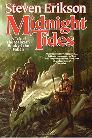 book cover of Midnight Tides