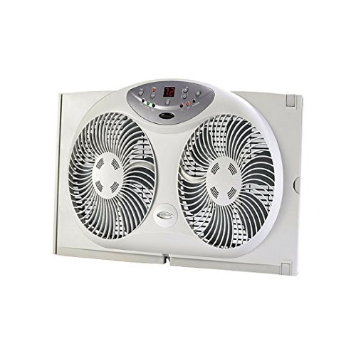 Jarden Home Environment Bionaire 9'' Window Fan Electronic control with LCD screen by Bionaire