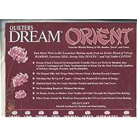 14471 Quilters Select Dream Orient Quilt Batting Double 96 X 93