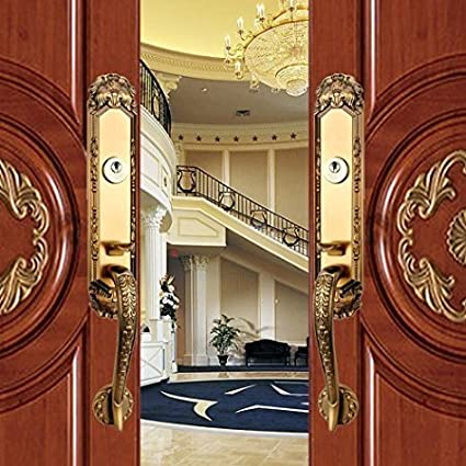 K6838 # Luxurious Mortise Lock Entry Entrance Front Door Handle ...
