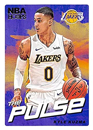 34122381c47 2018-19 NBA Hoops The Pulse  15 Kyle Kuzma Los Angeles Lakers Official  Trading