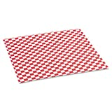 BGC057700 - Grease-resistant Paper Wrap/liners, 12 X 12, Red Check, 1000 Sheets/box