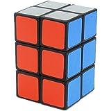 風の翼 - スムースプラスチック2x2x3スピードキューブステッカーマジックキューブ 223(ブラック)