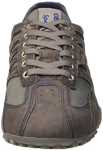 top Snake grey Grigio Scarpe Uomo Geox mud Low D dTBSOqIwI