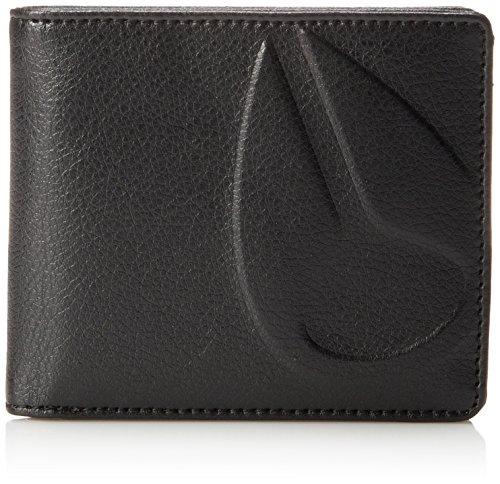 Nixon Haze Bi-fold Wallet, All Black ()