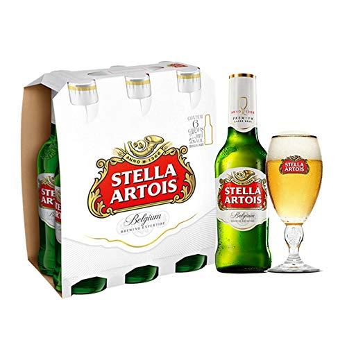 Kit Stella Artois 275ml (6 Unidades) + Cálice