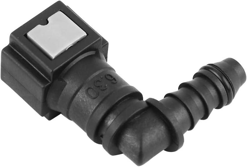 tuyau de carburant /à d/égagement rapide de la conduite de carburant Keenso Tuyau en nylon de coupleur de tuyau connecteur de moto 6.30Male connector tube en nylon ID6