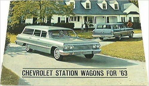 1963 CHEVROLET STATION WAGON DEALERSHIP SALES BROCHURE