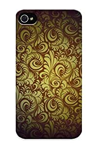 Christmas Day's Gift- New Arrival Cover Case With Nice Design For Iphone 4/4s- Paisley Pattern