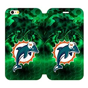 SUNNYGOOD New Style Miami Dolphins Custom Cover Case for iPhone6 Plus 5.5