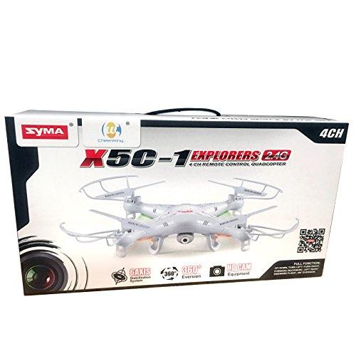 Syma X5C-1 Explorers 2.4Ghz 4CH 6-Axis Gyro RC Quadcopter ...