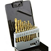 "13pc COBALT Drill Bit Set SAE 135 Deg. 1/16"" to 1/4"" w/ CASE"