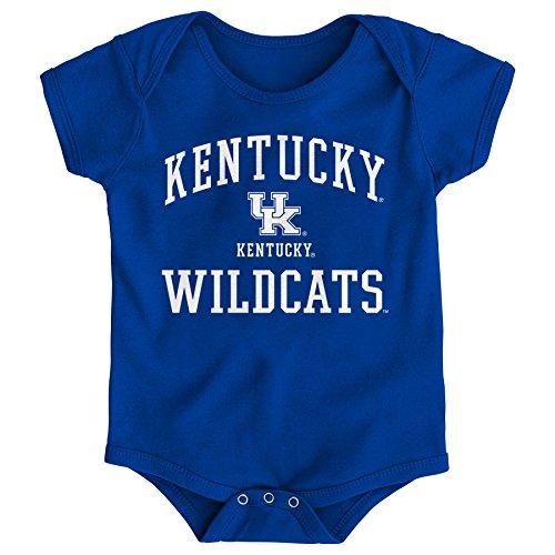 Gen 2 NCAA Kentucky Wildcats Newborn & Infant Primary Logo Bodysuit, 6-9 Months, Dark -