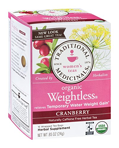 Traditional Medicinals Tea Weightless Cranberry, 16 Bags ()