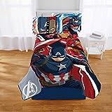 Marvel Captain America Civil War Kids Twin Bedding Plush Blanket