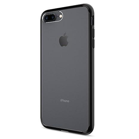 6cfe4e59553 Spigen Iphone 7 Plus Case Ultra Hybrid - Black  Amazon.in  Electronics
